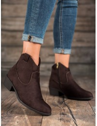 Zomšiniai klasikinio stiliaus batai - DBT1046/19D.BR