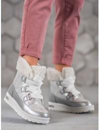 Pilki šilti patogūs žieminiai batai - ANN20-14428W