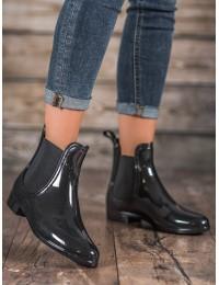 Juodi aukštos kokybės guminiai batai - DN-2B