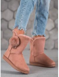Šilti komfortiški batai su kailiuku - LV69P