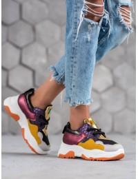 Madingi aukštos kokybės SNEAKERS modelio batai - AB5601B-Y