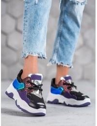 Madingi aukštos kokybės SNEAKERS modelio batai - AB5601B-PU