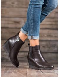 Elegantiški eko odos batai su platforma - 1669MAR