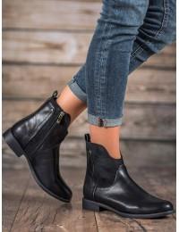 Stilingi juodos spalvos batai su pašiltinimu - DBT302/19B