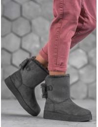 Pilkos spalvos UGG stiliaus batai - LV70G