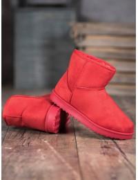 Klasikiniai UGG stiliaus raudoni batai