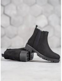 Aukštos kokybės juodos spalvos aulinukai - DBT991/19B
