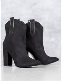Zomšiniai kaubojiško stiliaus batai - 1575-1B