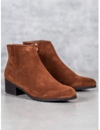 Natūralios verstos odos šilti batai - DBT1088/19BR