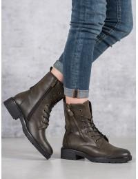Chaki spalvos stilingi batai su pašiltinimu - XY20-10476KH
