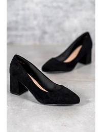 Juodos spalvos elegantiški bateliai - LE20-20107B