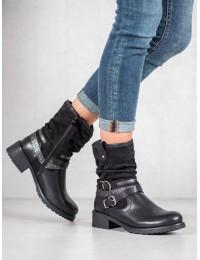 Juodos spalvos batai su pašiltinimu - Z119B