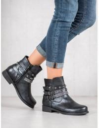 Tamsiai pilkos spalvos stilingi batai - LL179B