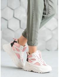 Išskirtiniai madingi aukštos kokybės batai su platforma - LV95-4P