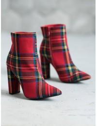 Madingi raudonos spalvos languoti batai - NS053R