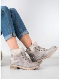 Šilti patogūs aukštos kokybės batai su avikailiu - GD-TL15LT.G