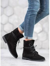Klasikinio stiliaus natūralios verstos odos batai su pašiltinimu - DBT1085/19B