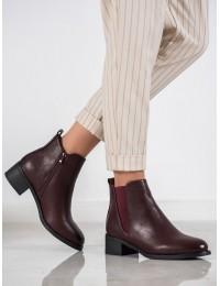 Aukštos kokybės bordo spalvos klasikiniai batai - TX-3202WI