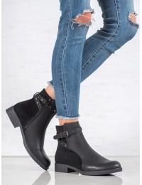 Stilingi juodi batai - A8120/A-B