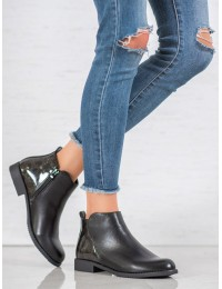 Stilingi juodi batai - A8045/D-B
