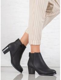 Elegantiški klasikinio stiliaus juodi batai - S1807-1B