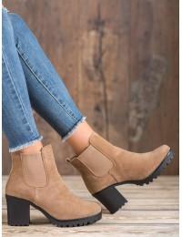 Madingi rusvos spalvos batai