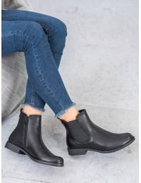 Klasikinio stiliaus juodi stilingi aulinukai - A8042/A-B