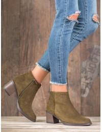 Madingos spalvos zomšiniai batai - K1937904KH