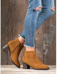 Madingos CAMEL spalvos zomšiniai batai - K1937904CUE