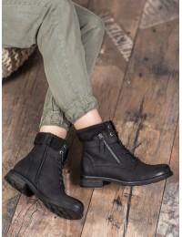 Juodos spalvos stilingi patogūs batai - GD-WL-09B