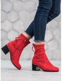Stilingi raudonos spalvos išskirtiniai batai - GD-FL2006R