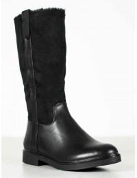 Šilti klasikinio stiliaus juodos spalvos ilgauliai - 4370B