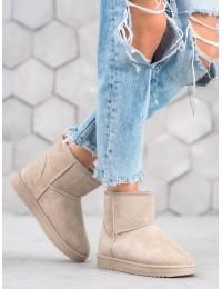 UGG stiliaus patogūs batai su kailiu - 7602KH