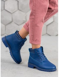 TIMBER stiliaus mėlynos spalvos aulinukai - W-3033N
