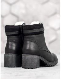 Stilingi šilti juodos spalvos aulinukai - GD-WL-13B