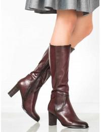 Aukštos kokybės eko odos elegantiški batai - XY20-10501BUR