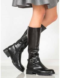 Aukštos kokybės klasikinio stiliaus juodi ilgaauliai - DKZ960/19B