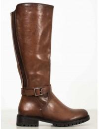 Aukštos kokybės klasikinio stiliaus rudi ilgaauliai - DKZ960/19BR