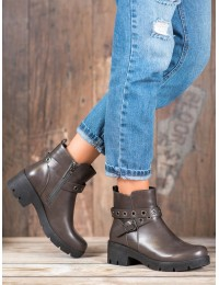 Madingi patogūs batai su dirželiu - 9996-2G