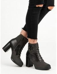Madingi suvarstomi batai su kulnu - HX19-16004G