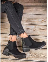 Stilingi zomšiniai batai su elastingais tampriais šonais - SHN2221B