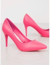 Rožinės spalvos aukštakulniai - K1952303F