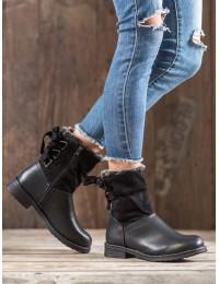 Šilti batai su kailiu - L7404B