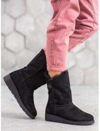 UGG stiliaus juodi batai žiemai - K1838406NE