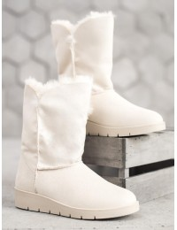 UGG stiliaus balti batai žiemai - K1838406HI