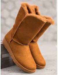 UGG stiliaus rudi batai žiemai - K1838406C