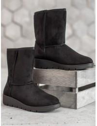 UGG stiliaus juodi batai žiemai\n - K1838403NE