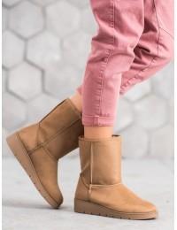 UGG stiliaus rusvi batai žiemai\n - K1838403TA