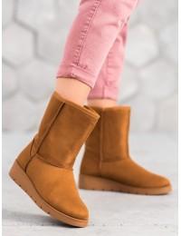 UGG stiliaus rudi batai žiemai\n - K1838403C