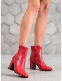 Lakuotos odos raudoni batai - NS051R